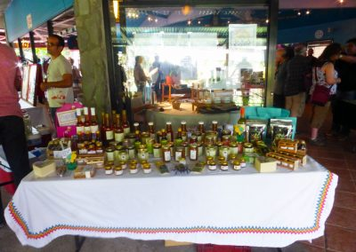 Boquete Tuesday Market: local honey
