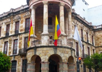 Government building; Cuenca Ecuador