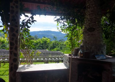 Finca dos Jefes: view from patio