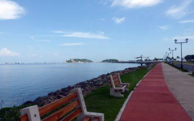 Panama City's Amador Causeway & Biomuseo