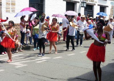 Fiesta de Reyes: Looking like hula dancers