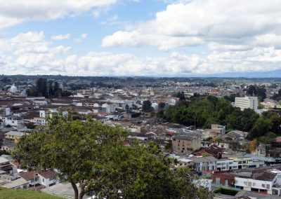 Popayan Colombia: View of city