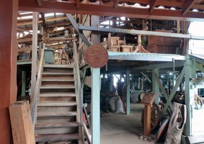 sarchi oxcarts: factory workshop woodworking