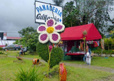 Volcan Flower Festival: big flower