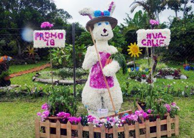 Volcan Flower Festival: rabbit