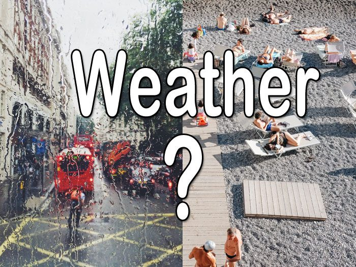 Online weather tools - article header